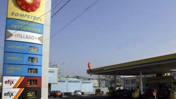 Rompetrol a modificat preturile carburantilor