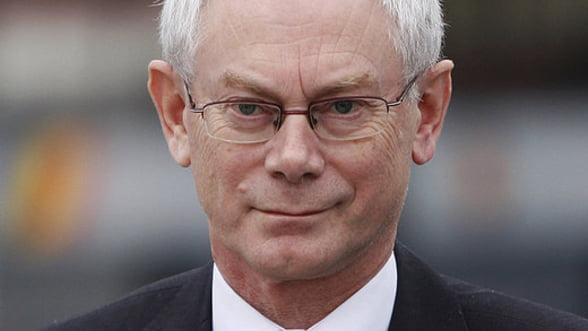 Rompuy lucreaza la un raport privind aprofundarea Uniunii monetare