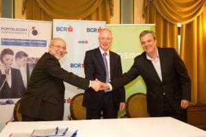 Romtelecom si Cosmote, contract cu BCR pentru servicii integrate