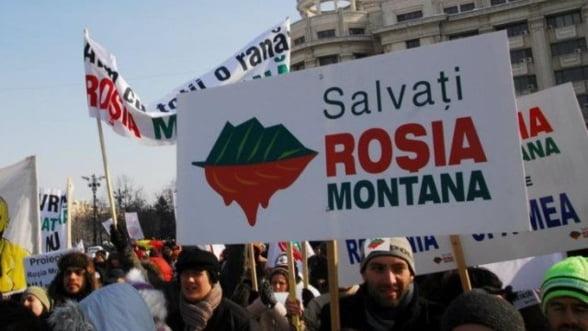 Rosia Montana. Cum a decurs intalnirea intre protestatari si parlamentari