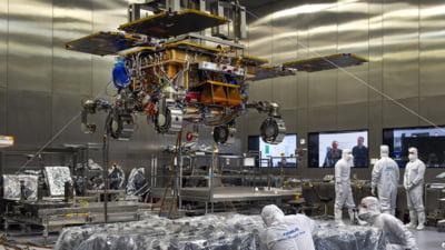 Roverul ExoMars, construit de Airbus, e gata pentru teste