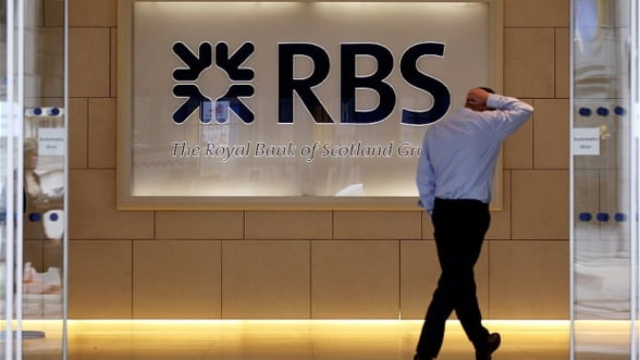 Royal Bank of Scotland Group a revenit pe profit in trimestrul trei din 2014