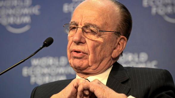 Rupert Murdoch si-a retras oferta de cumparare a companiei media Time Warner