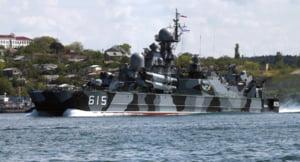 Rusia face exercitii de razboi in Marea Neagra