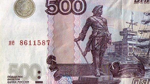 Rusia incearca redresarea - rubla s-a apreciat cu 9%