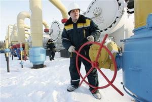 Rusia ne taie gazul din cauza Ucrainei. Probleme in toata Europa
