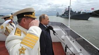 Rusia se blindeaza de la Polul Nord pana la Mediterana