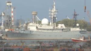 Rusia spioneaza SUA si de pe mare. O nava ultramoderna a fost reperata in apropiere de bazele americane