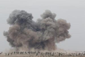 Rusia spune ca a pus pe fuga Statul Islamic in Siria: Jihadistii bat in retragere