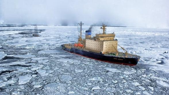 Rusia vaneaza zacamintele din zona arctica. Cu cine se cearta Putin la Polul Nord?