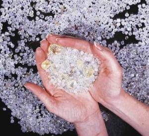 Rusii au descoperit un munte plin cu diamante