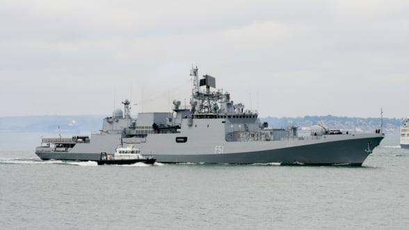 Rusii construiesc nave de razboi in India - comanda uriasa de fregate stealth
