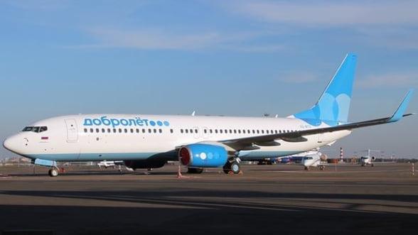 Rusii de la Dobrolet cumpara avioane Boeing de 1,5 mld. de dolari, desi activitatea e suspendata