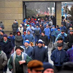Rusii de la Mechel Targoviste trimit angajatii in somaj tehnic