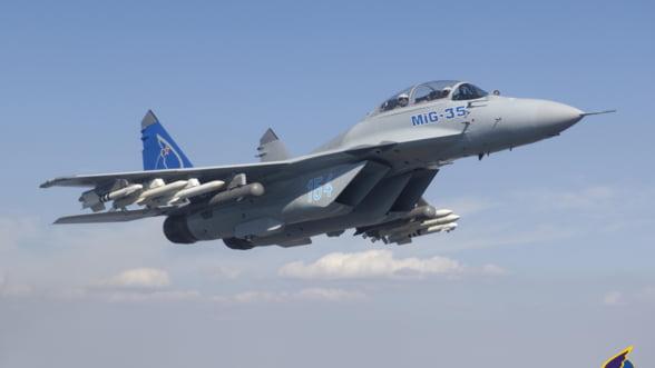 Rusii se pregatesc sa scoata pe piata noul avion de lupta MiG-35