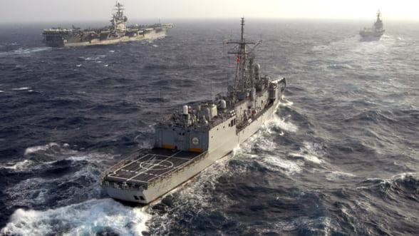 Rusii sunt cu ochii pe manevrele NATO din Marea Neagra: Este evident ca vom reactiona