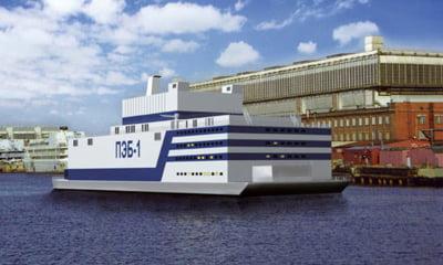 Rusii trimit o centrala nucleara plutitoare, prima din lume, in traversarea Oceanului Arctic