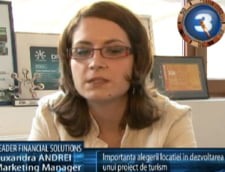 Ruxandra Andrei: importanta alegerii locatiei in dezvoltarea unui proiect de turism