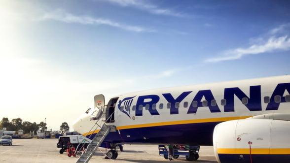 Ryanair a anulat joi cursele Bucuresti-Paphos (Cipru) si retur