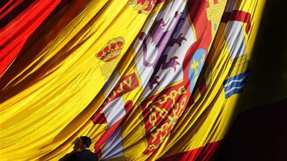 S&P a confirmat ratingul Spaniei la 'BBB minus', cu perspectiva negativa
