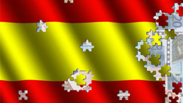 S&P a retrogradat cu doua trepte ratingul Spaniei, la 'BBB plus'