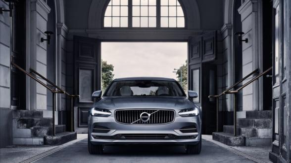 S90: Noua limuzina Volvo este gata de lansare si arata impresionant