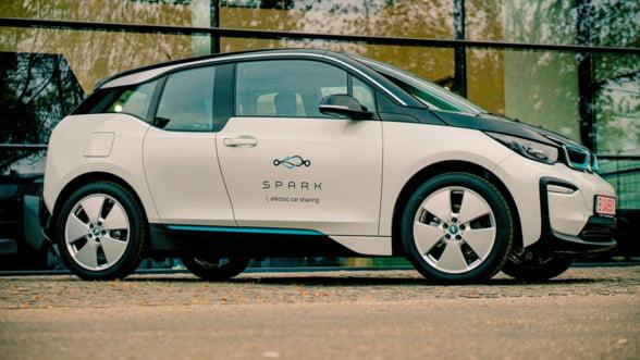 SPARK introduce in flota BMW i3 si planuieste sa ajunga la 100 de automobile in acest an