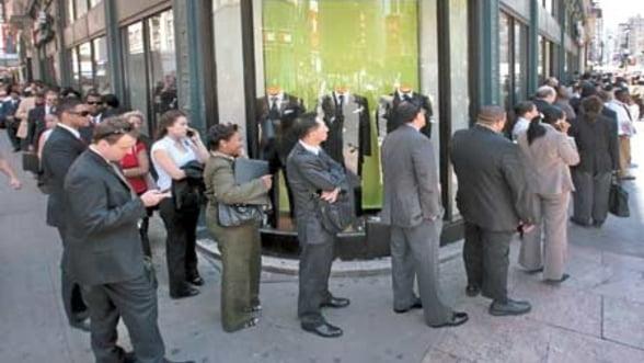 SUA: Rata somajului a scazut in aprilie la 8,1%