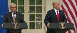 SUA si UE au semnat o declaratie comuna si s-au indepartat de razboiul comercial: Zero taxe