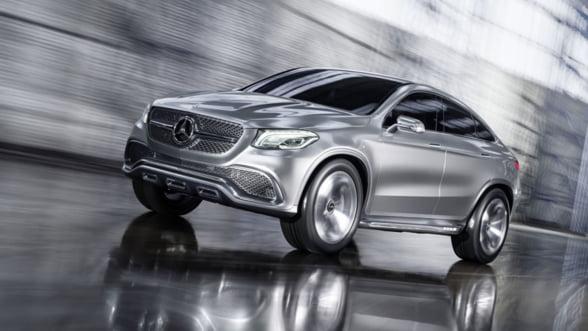 SUV sau coupe? Mercedes iti propune o combinatie inedita