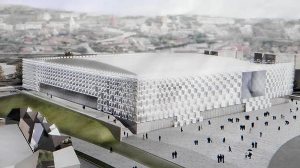 Sala Polivalenta din Cluj-Napoca va fi inaugurata in octombrie Galerie FOTO