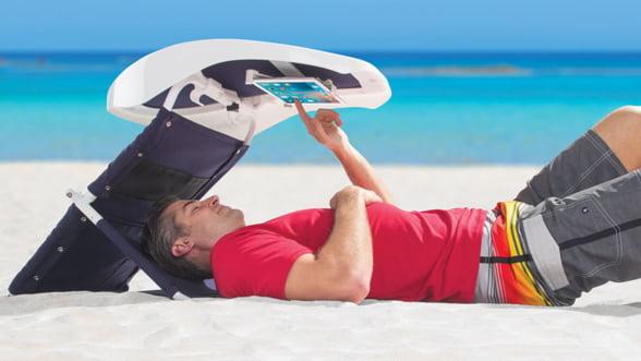 Sala ta de lectura de pe plaja, un accesoriu cu aspect inedit. Ti se potriveste?
