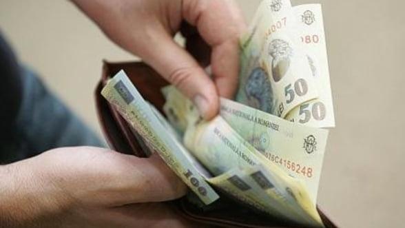 Salariile bugetarilor: 1,13 miliarde de euro in aprilie