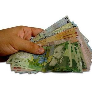 Salariul mediu net a crescut in septembrie la aproape 1300 lei
