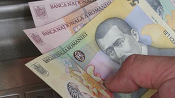 Salariul mediu net pe economie a ajuns la 1.617 lei, in crestere cu 4,1% in martie
