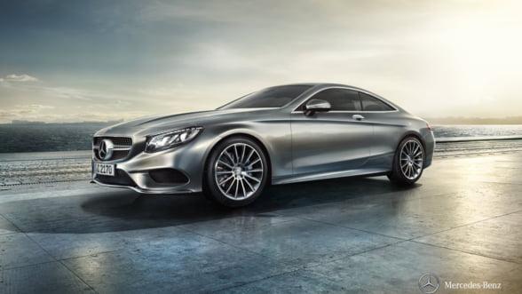 Salonul Auto Bucuresti 2014: Mercedes S500 Coupe, in premiera nationala