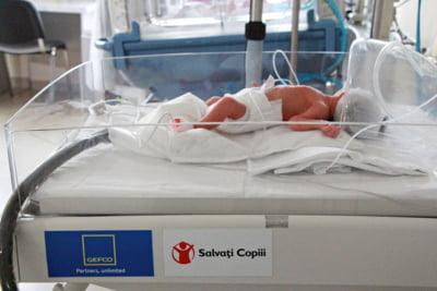 Salvati Copiii Romania doteaza Sectia de Terapie Intensiva Neonatala de la Maternitatea Pantelimon