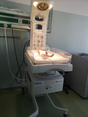 Salvati Copiii duce aparatura medicala necesara supravietuirii prematurilor la Zalau, unde rata mortalitatii infantile este uriasa