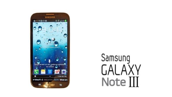 Samsung Galaxy Note III ar putea avea un ecran de 5,9 inci