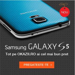 Samsung Galaxy S5. Despre cum sa fii mai bun