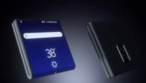 Samsung Galaxy X: Cum ar putea functiona ecranul telefonului pliabil al sud-coreenilor