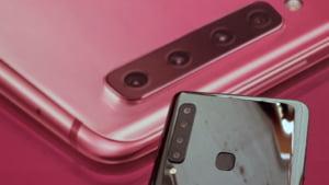 Samsung anunta un telefon cu patru camere foto. Cat costa modelul revolutionar