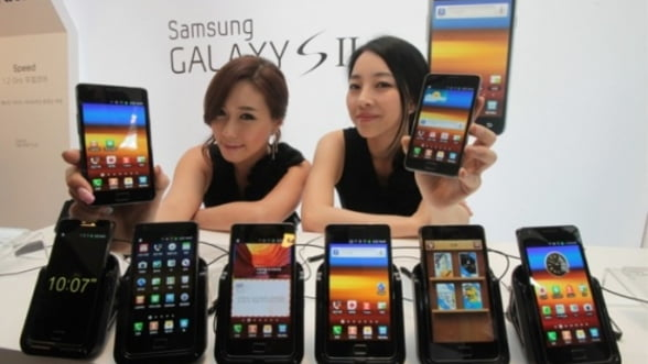 Samsung da lovitura in trimestrul doi: Apple ramane in urma