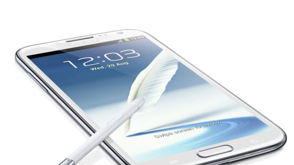 Samsung lanseaza Galaxy Note II in Romania: Cand ajunge in magazine