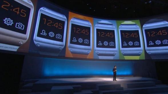 """Samsung si-a lansat ceasul """"inteligent"""". Ce sanse are pe piata"""