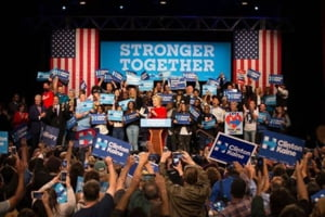 Sansele lui Hillary Clinton au crescut la pariuri dupa prima dezbatere cu Trump
