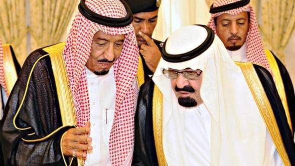 Saracii printi sauditi! Criza le-a topit averile in 2015