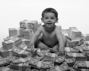 Saracul copil bogat - Sfatul psihologului pentru copiii de bani gata