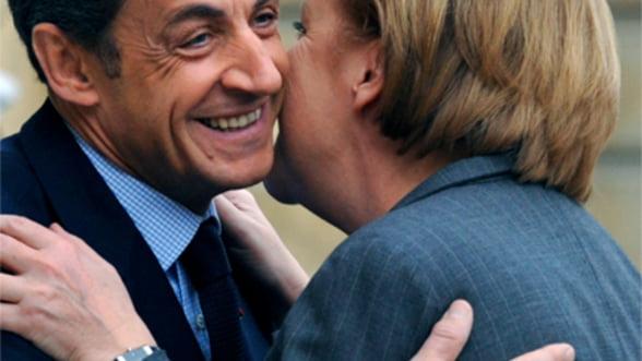 Sarkozy si Merkel cauta noi solutii pentru criza datoriilor