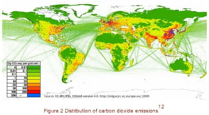 Sase tari sunt responsabile de aproape 60% din emisiile de dioxid de carbon - Vezi topul